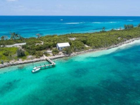 Isla Pierre en las Bahamas.