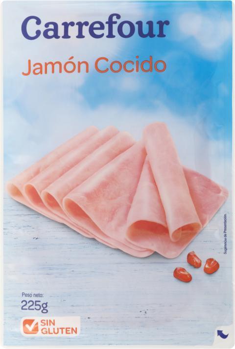 Jamón cocido de Carrefour