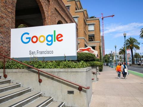 Google San Francisco.