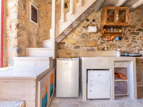Cocina interior.