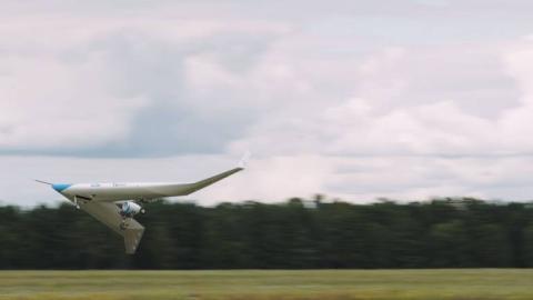 KLM: su revolucionario avión con forma de V comienza a volar