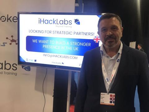 Miguel Rego, CEO de iHackLabs y ahora vicepresidente para Defensa y Seguridad de Eleven Paths (Telefónica Tech)