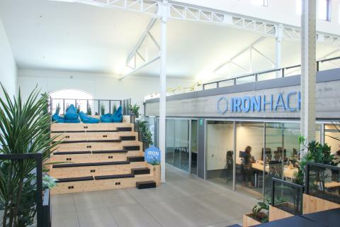 Oficinas IronHack Madrid