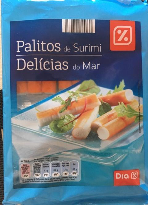 Palitos de cangrejo Dia