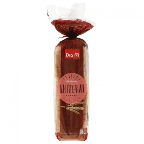 Pan de molde integral Dia
