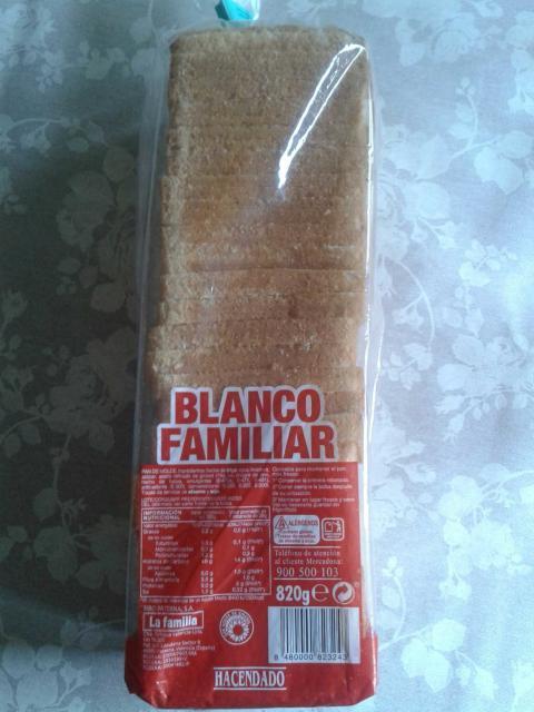 Pan de molde Mercadona