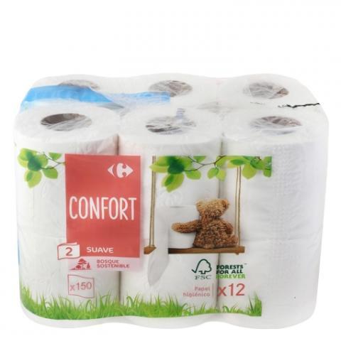 Papel higiénico de Carrefour