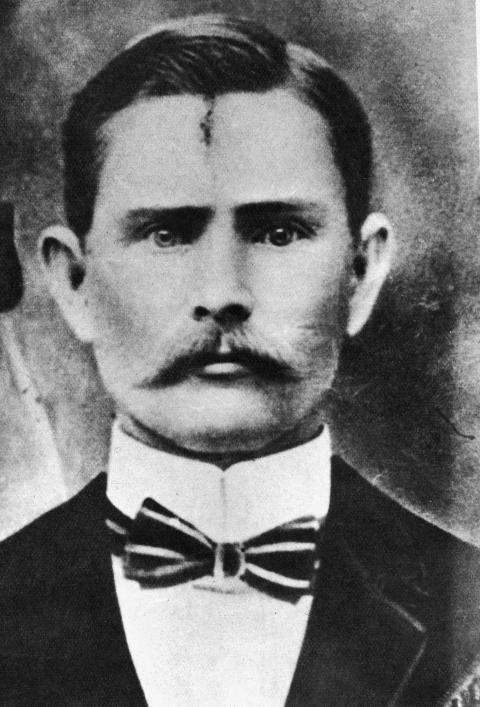 Una foto de Jesse James
