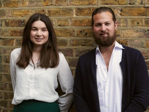 Rachael Crook y Sam Cohen, cofundadores de Lifted.