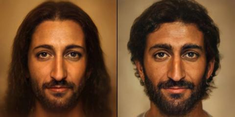 Un fotógrafo recrea con IA el rostro de Jesucristo y se hace viral | Business Insider España
