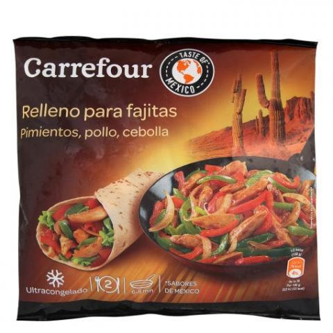 Relleno para fajitas de Carrefour