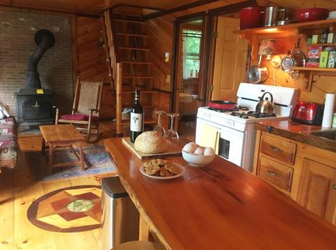 A Rhode Island Airbnb. Airbnb
