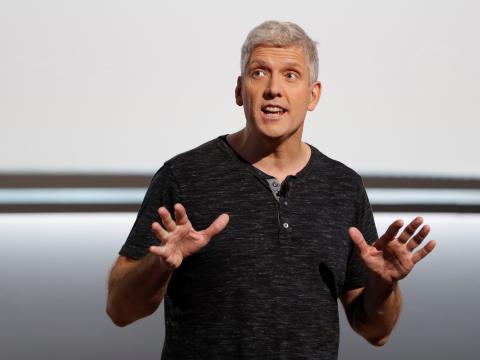 Rick Osterloh, jefe de Dispositivos y Servicios en Google. Stephen Lam/Reuters