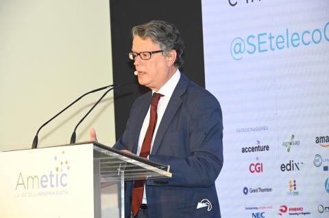 Roberto Sánchez,Secretario de Estado de Telecomunicaciones e Infraestructuras Digitales.