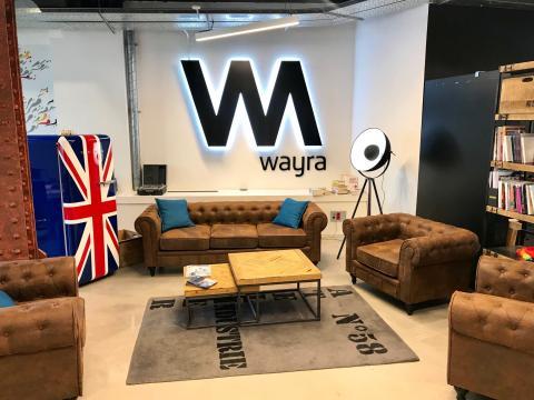 Sede de Wayra en Madrid, España
