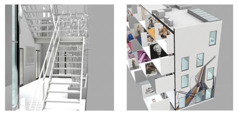 Showroom virtual de Área de Comunicación