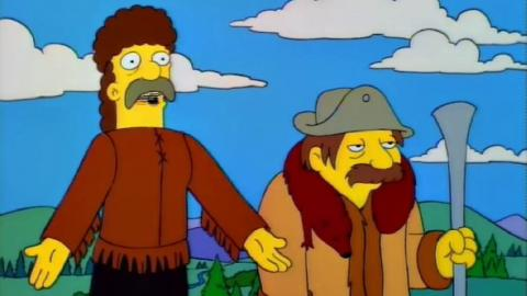 Los Simpson - Jebediah Springfield