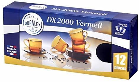 tazas con platos Duralex