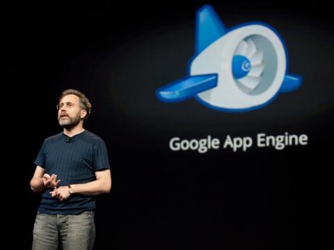 Urs Hölzle, vicepresidente sénior de infraestructura técnica de Google. Kim Kulish/Getty Images