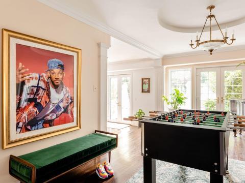 El ala de la mansión de Will Smith estará disponible en Airbnb solo durante 5 noches.