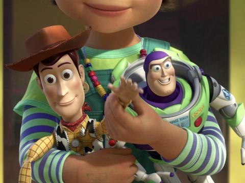 La acción de Woody al final de la película es verdaderamente conmovedora.