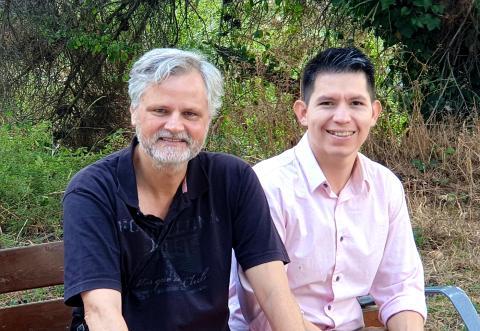 Xavier Batlle (i) y Francisco Rubio (d), fundadores de Ivesol