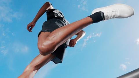 La zapatilla Cyclon de On Running.