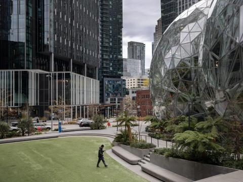 Sede de Amazon en Seattle.