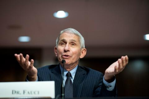 El doctor Anthony Fauci.