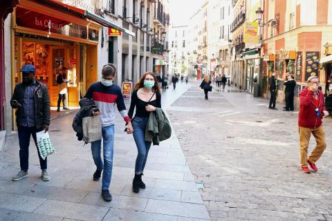 Calles de Madrid.