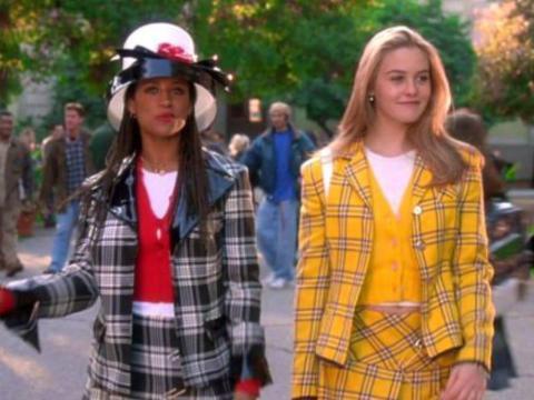 Stacey Dash y Alicia Silverstone protagonizaron la película de 1995 'Clueless'.