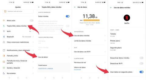 como desactivar las actualizaciones en segundo plano en android