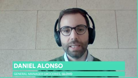 Daniel Alonso responsable de Grocery de Glovo