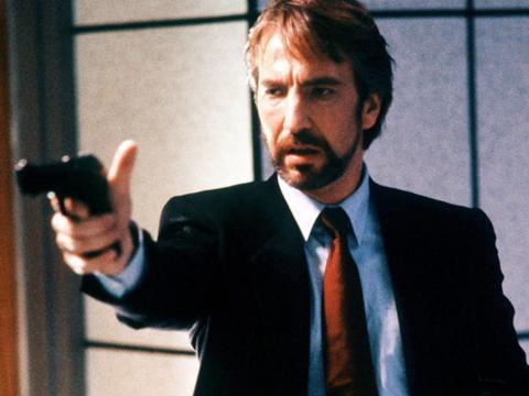 Alan Rickman como Hans Gruber.