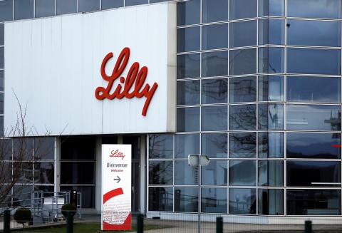 Una planta de fabricación de Eli Lilly en Fegersheim, Francia.