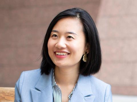 La emprendedora e inversora Yi Luo.