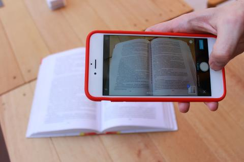 Escanear un libro con el móvil