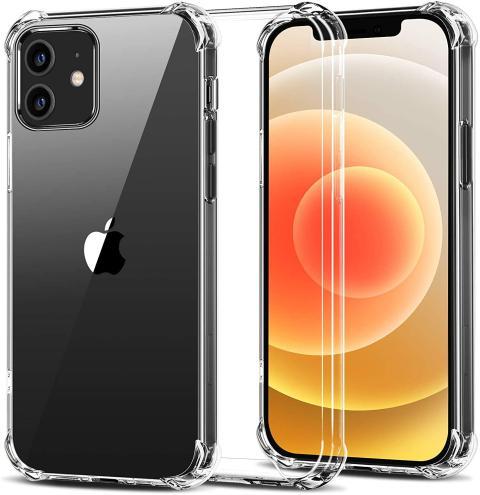 Funda transparente iPhone 12 y 12 Pro