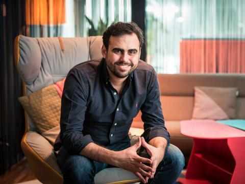 El fundador y CEO de Wefox, Julian Teicke.