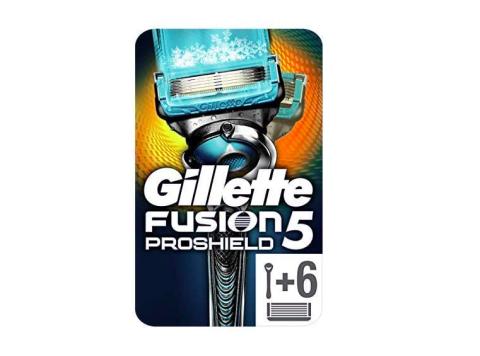 Gillette Fusion5 ProShield Chill maquinilla de afeitar + 6 cuchillas de recambio.