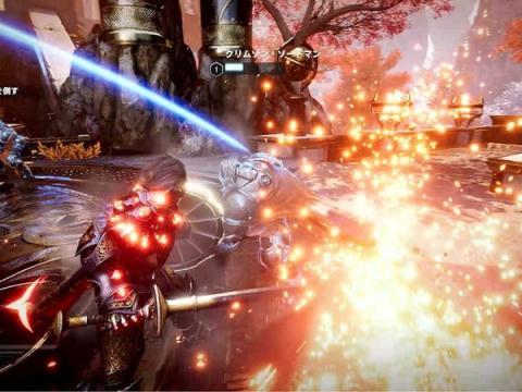 Godfall, un título Action RPG que saldrá como título de lanzamiento de PS5.