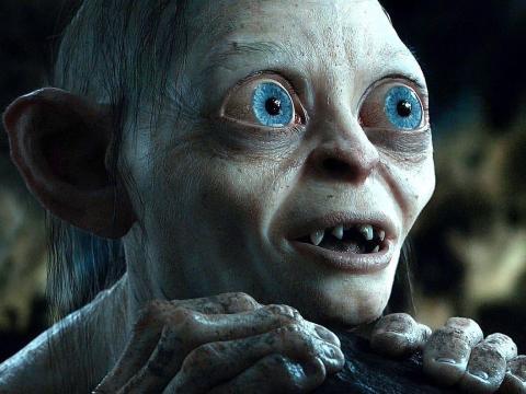 Gollum en 'El señor de los anillos'.