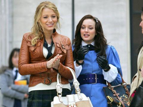 Blake Lively y Leighton Meester protagonizaron 'Gossip Girl'.