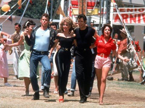 Olivia Newton-John y John Travolta protagonizaron 'Grease'.