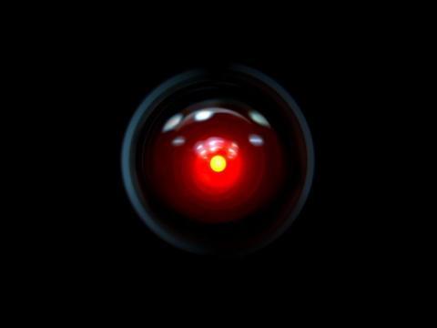 HAL 9000 en '2001: odisea en el espacio'.