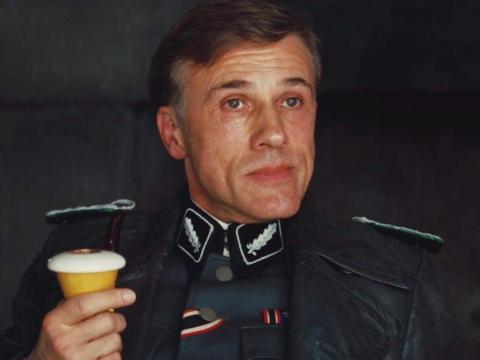 Christoph Waltz como Hans Landa.