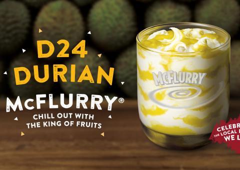 McFlurry de durián.
