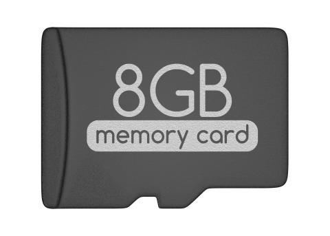 MicroSD 8 GB