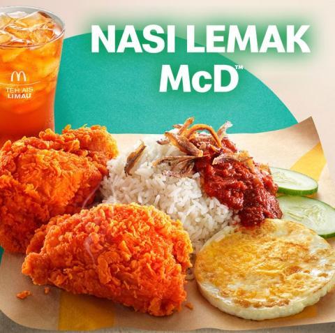 Nasi Lemak, de McDonald's.