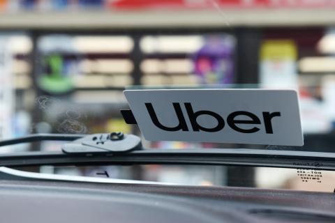 Pegatina Uber